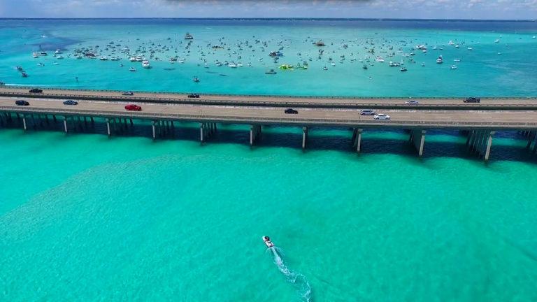 drone-aerial-crab-island-destin-fl