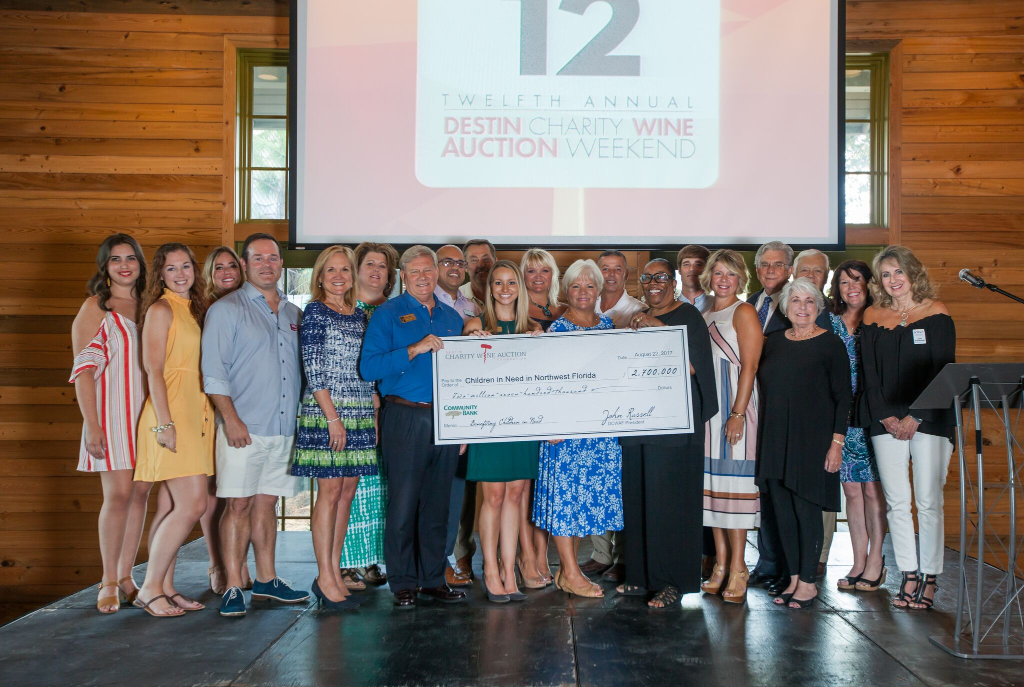 Destin Charity Wine Auction Foundation Donates a Record Breaking $2.7 Million