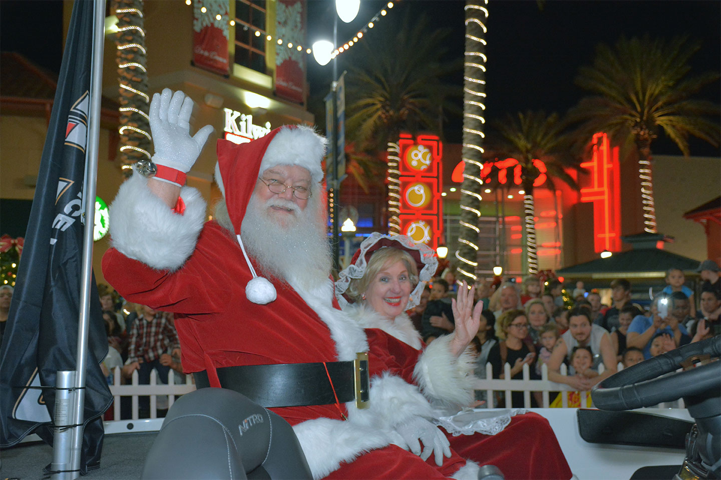 Santa's arrival to the Destin Commons has been announced