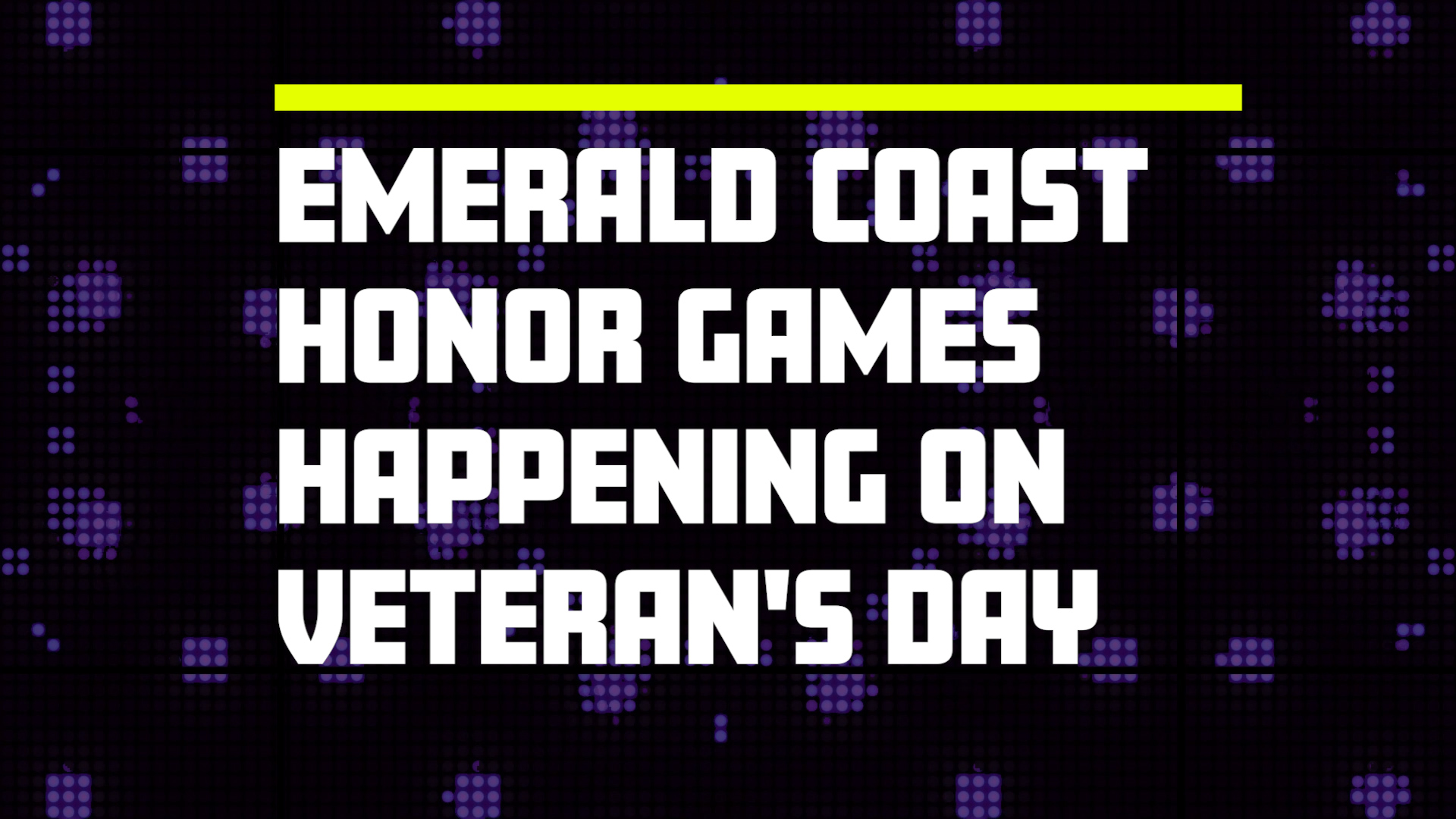 Emerald Coast Honor Games at Legendary Marine 2017