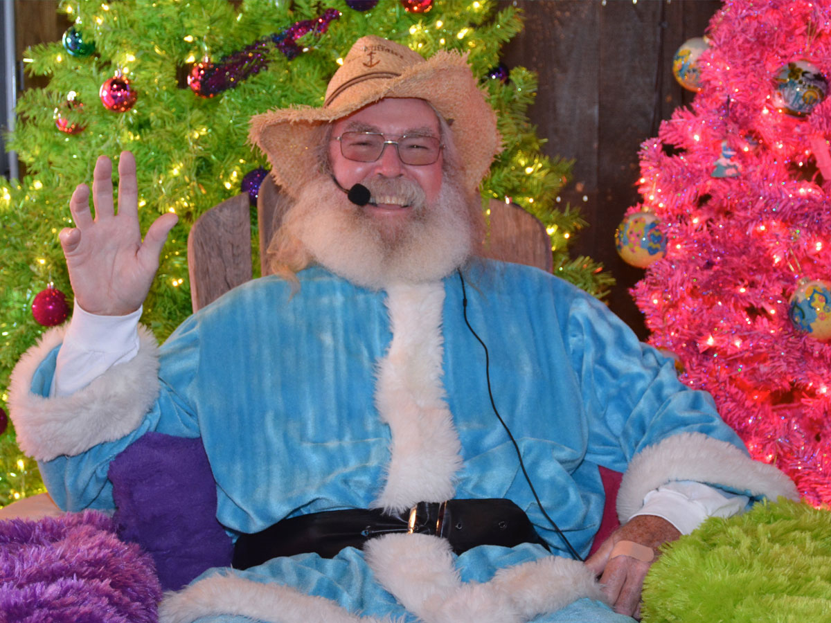 Santa's brother, Billy Claus, is coming to Lulu's