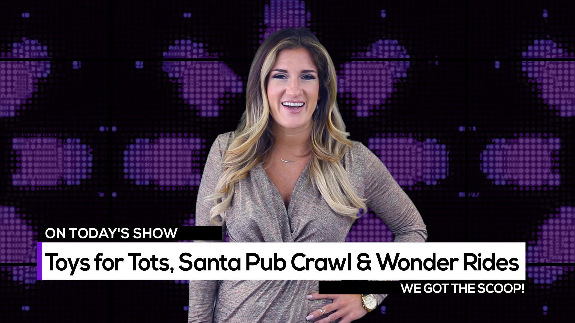 Toys For Tots, Santa Pub Crawl and Winter Wonder Rides