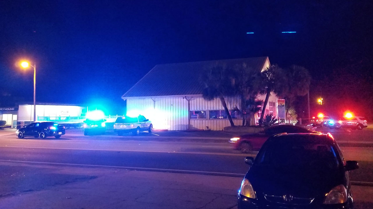Shooting in Downtwon Fort Walton Beach