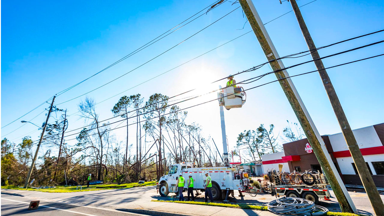 Gulf Power announces that Panama City Beach is powered up