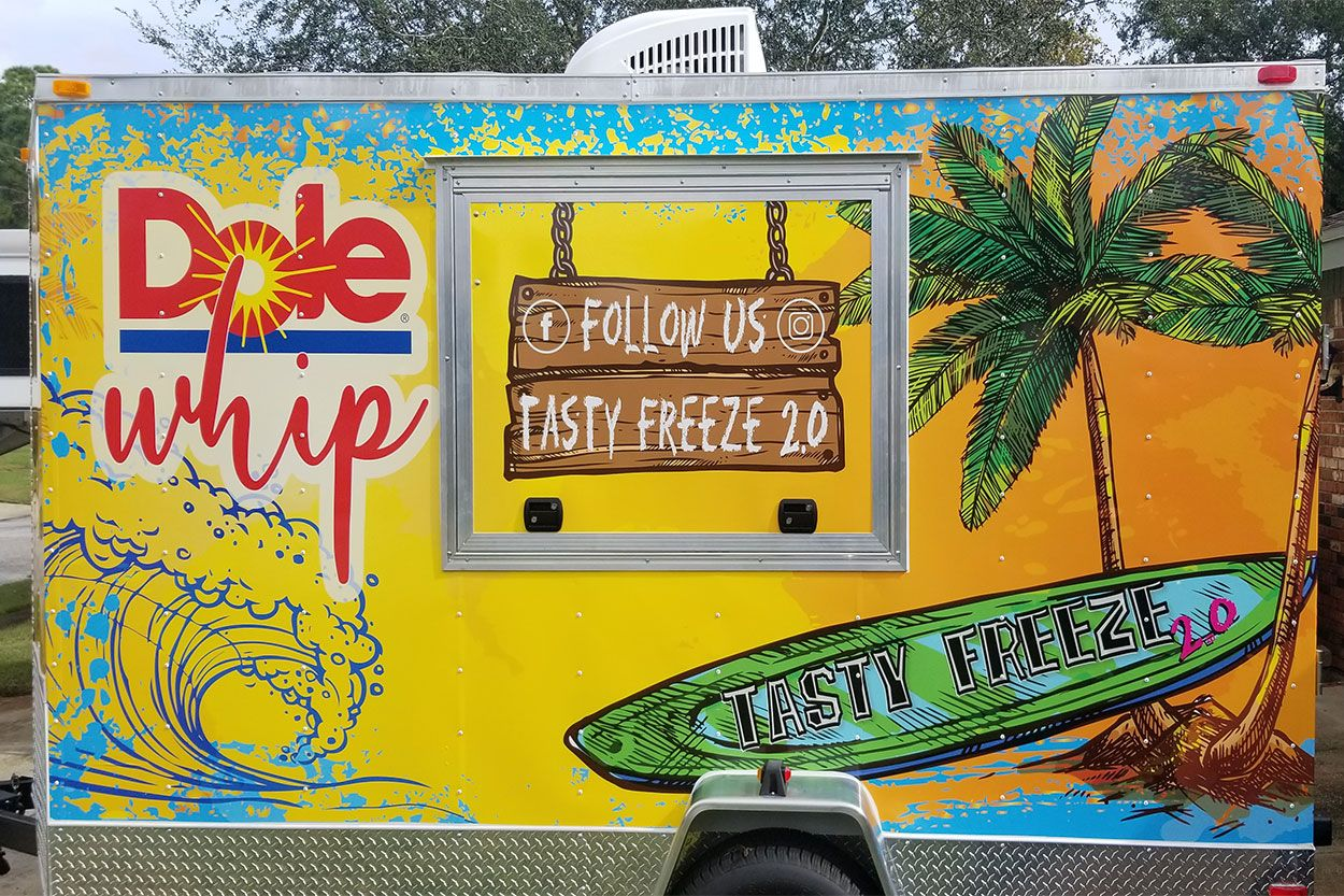 Dole Whip Food Truck in Fort Walton Beach