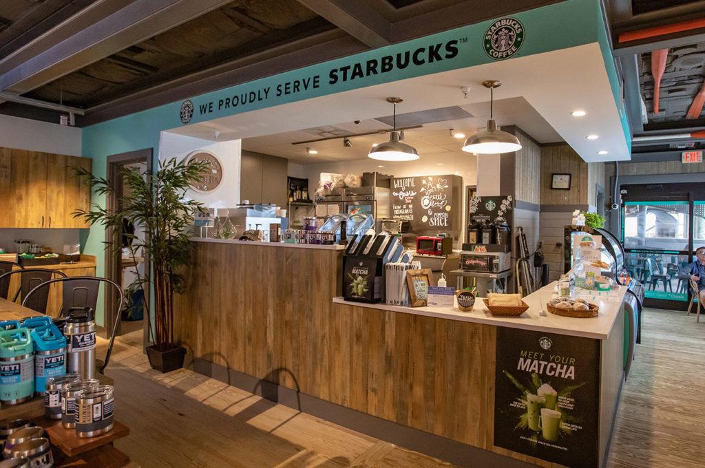 Now serving Starbucks coffee on Okaloosa Island