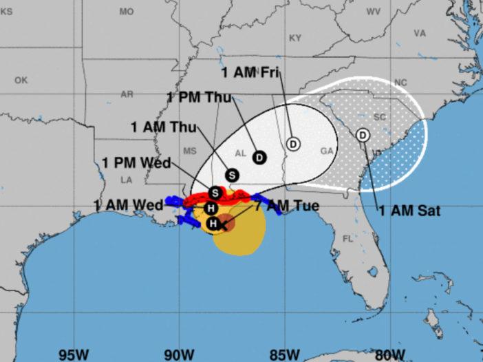 Hurricane Sally weakened a bit overnight but still slow ...Hurricane Sally Update