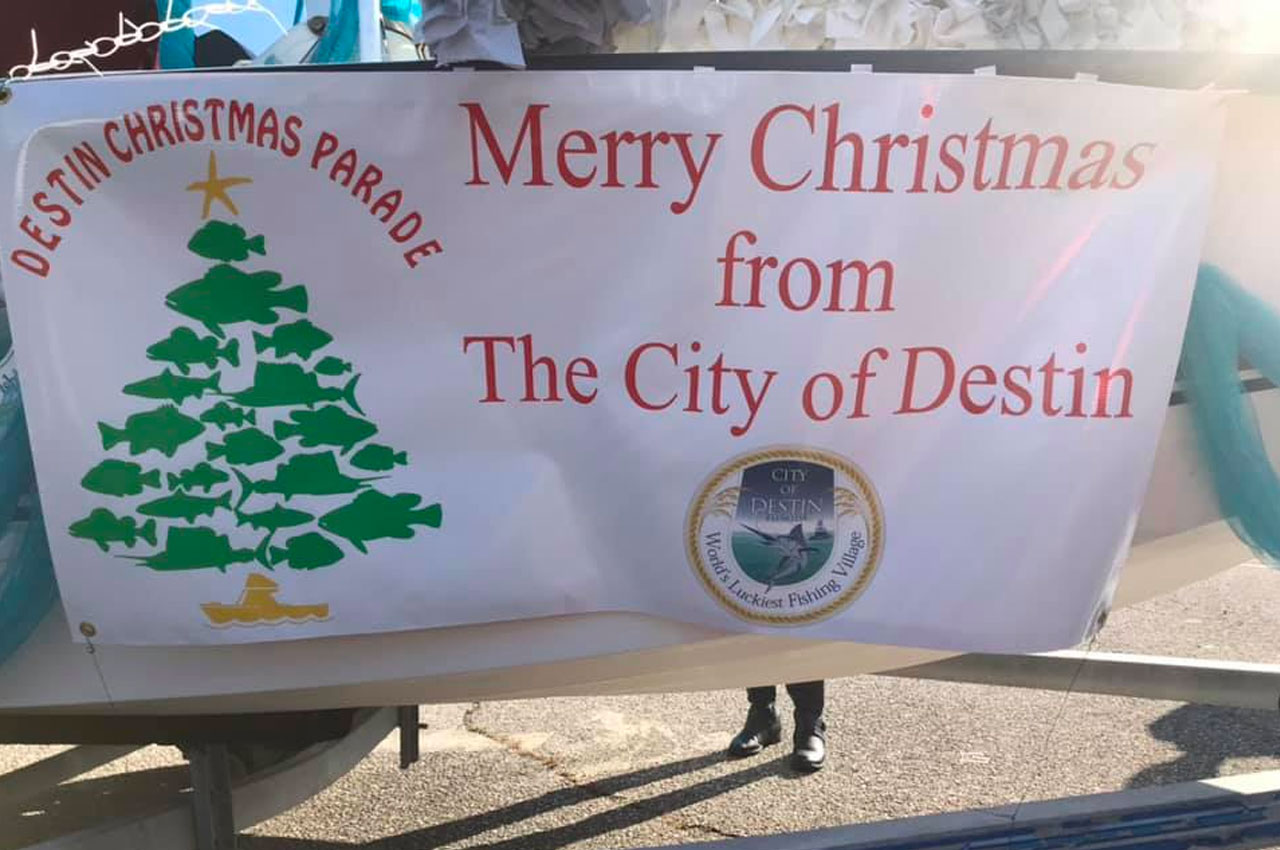 City of Destin will have a Christmas Parade