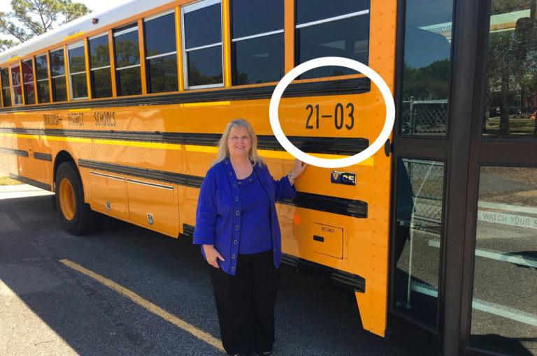 New Okaloosa County School Bus